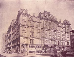 Vintage Photo Grand Pacific Hotel Chicago circa 1890: free high resolution download