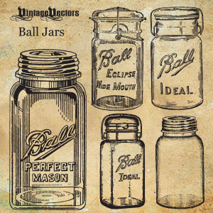 Ball Mason Jars, moonshine glass jar