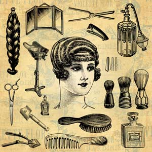 Hair Salon | Hairdresser | Barber | Beauty Design Elements