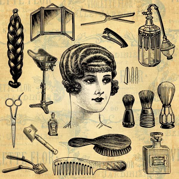 Hair Salon | Hairdresser | Barber | Beauty Design Elements